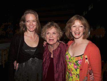 Suzy Amis, Gloria Stuart and Frances Fisher at the world premiere of &quot;Dark Angel&quot;.